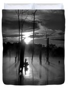 Spooky Sunrise Duvet Cover