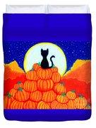 Spooky The Pumpkin King Duvet Cover