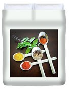 Spoons N Spices Duvet Cover