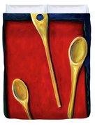 Spoons Duvet Cover