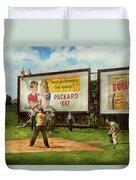 Sport - Baseball - America's Past Time 1943 Duvet Cover