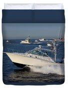 Sportfishing Boats - Cabo San Lucas Duvet Cover