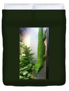 Spotted Gecko Duvet Cover