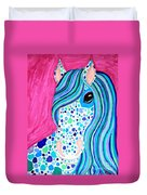 Spotted Horse Duvet Cover