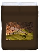 Spotted Mayfly Duvet Cover