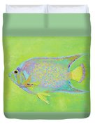 Spotted Tropical Fish Duvet Cover