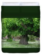 Spreading Chestnut Tree Duvet Cover