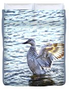 Spreading My Wings Hdr Duvet Cover