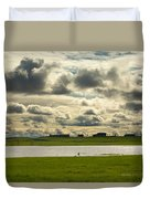 Spring Along The Shubenacadie River Duvet Cover