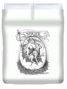 Spring Arrives Duvet Cover