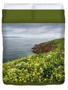 Spring At Chimney Rock Duvet Cover