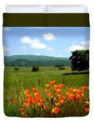 Spring At Gainey Ranch Duvet Cover