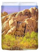 Spring At Joshua Tree Duvet Cover