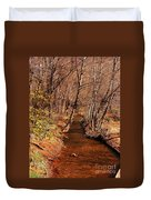 Spring At Red Rock Crossing Duvet Cover