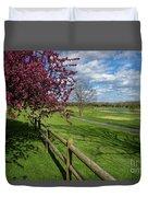Spring At Rivercut Duvet Cover