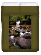 Spring At Table Rock Duvet Cover