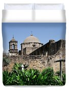 Spring At The Mission Duvet Cover