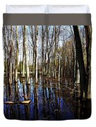Spring At The Pond Duvet Cover