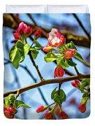 Spring Awakening 3 - Paint Duvet Cover