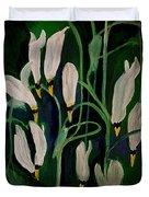 Spring Ballet Duvet Cover