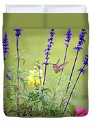 Spring Beauties In The Garden Duvet Cover