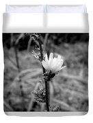 Monochrome Flower Series - Spring Bloom Duvet Cover