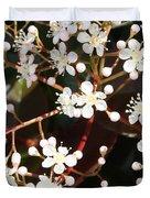 Spring Blossoms Macro Duvet Cover