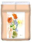 Spring Bouquet II Duvet Cover by Kip DeVore