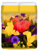 Spring Bouquet Duvet Cover