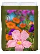 Spring Bouquet Duvet Cover by Louis Rivera