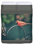 Spring Cardinal Duvet Cover