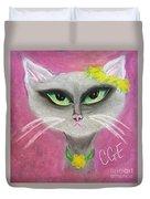 Spring Cat Duvet Cover