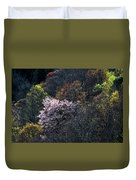 Spring Colors On The Parkway Duvet Cover