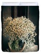Spring Flower Arrangement Duvet Cover