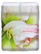 Spring Flower Macro Duvet Cover
