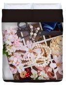 Spring Flowers Box Duvet Cover
