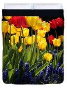Spring Flowers Square Duvet Cover