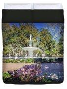Spring Fountain Duvet Cover