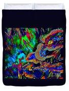 Spring Garden Festival Duvet Cover