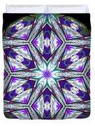 Spring Garden Mandala Duvet Cover