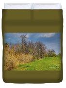 Spring Grass Duvet Cover