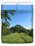 Spring Hike Duvet Cover
