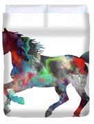 Spring Horse 2 Duvet Cover