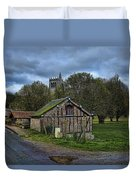 Spring House And Abbey Duvet Cover
