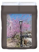 Spring In  Columbus Park 1 Duvet Cover