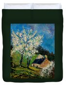 Spring In Hierges  Duvet Cover