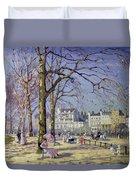 Spring In Hyde Park Duvet Cover