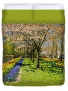 Spring In Keukenhof, Netherlands Duvet Cover