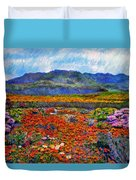 Spring In Namaqualand Duvet Cover