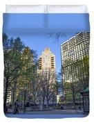 Spring In Philadelphia - Rittenhouse Square Duvet Cover